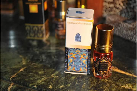 Hindi Dhen Al Oudh Attar 3 ml Óleo puro de Oudh
