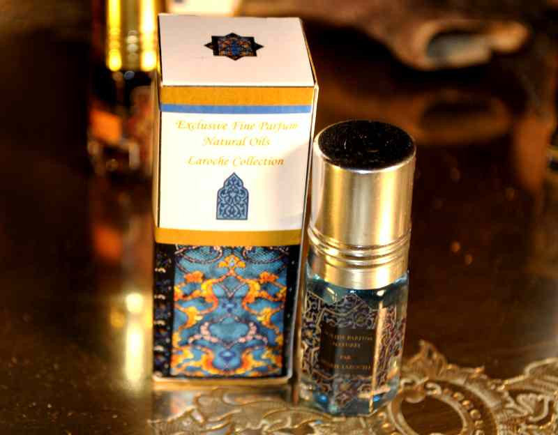 Parfum de musc naturel naturel égyptien Nile 3ml