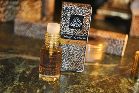 Parfum naturel Ambergris Rose 3ml