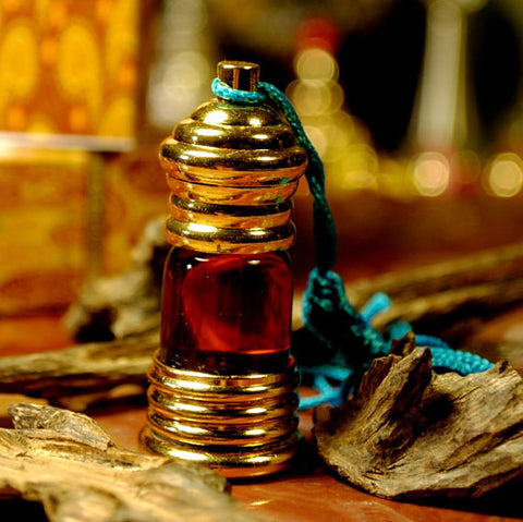 Ambergris Brown Brown Mukahllat Parfum 3 ml