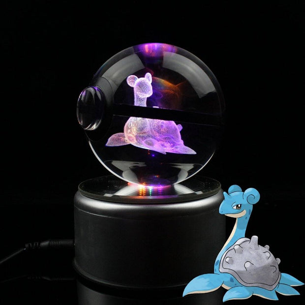 Lapras Pokemon Crystal Pokeball