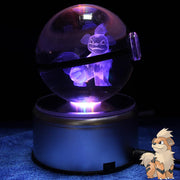 Growlithe Pokemon Crystal Pokeball