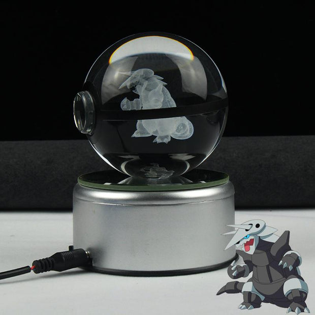 Aggron Pokemon Crystal Pokeball