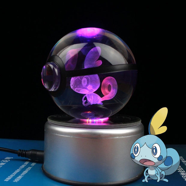 Sobble Pokemon Crystal Pokeball