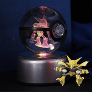 pokemon alakazam crystal pokeball