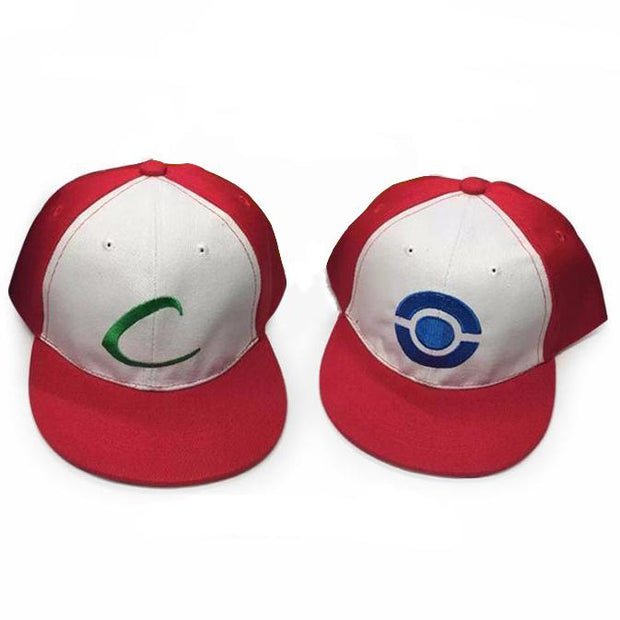 pokemon ash ketchum trainer hats