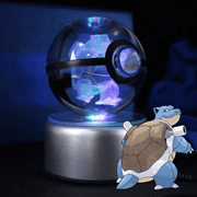 pokemon blastoise crystal pokeball