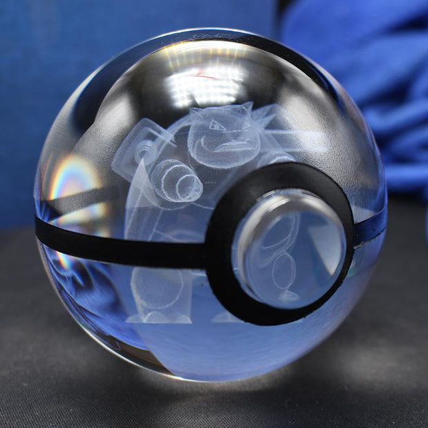 pokemon blastoise crystal pokeball no base