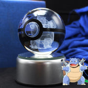 pokemon blastoise crystal pokeball light off