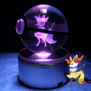 pokemon braixen crystal pokeball