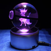 pokemon braixen crystal led pokeball