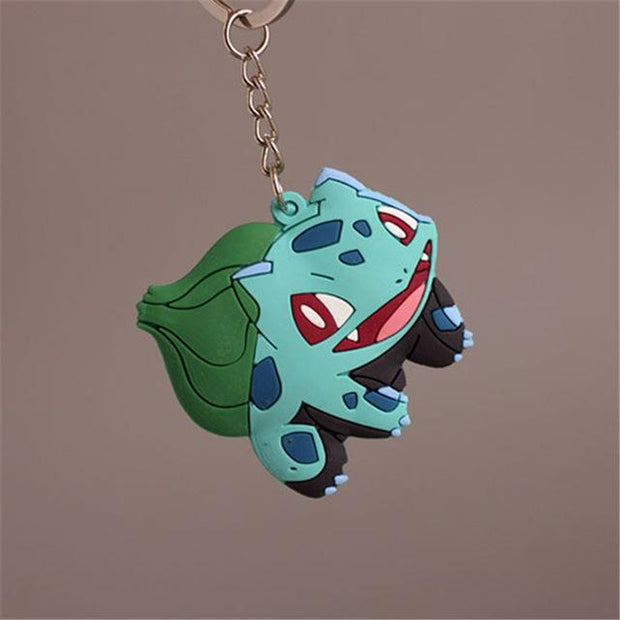 pokemon bulbasaur 3d keychain