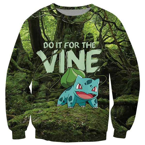 "Bulbasaur ""Vine"" Top"