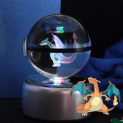 pokemon charizard crystal pokeball