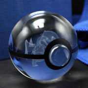 pokemon charizard glass ball