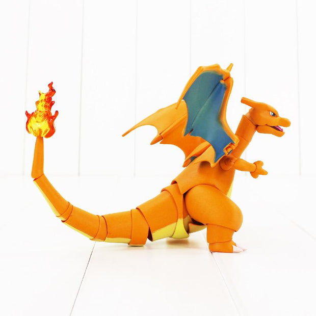 pokemon charizard collectors figure toy behind view