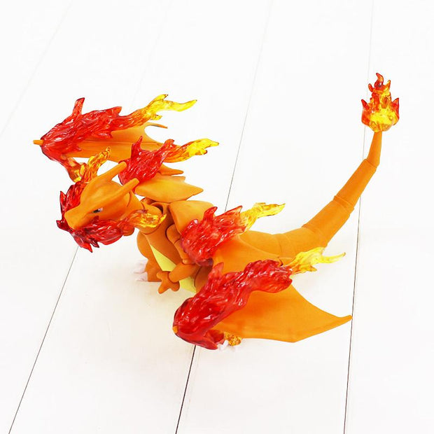 pokemon charizard collectors figure toy with large fire breath