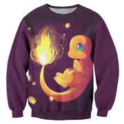 Bright In The Night Charmander TopSweaterS