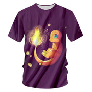 Bright In The Night Charmander TopT-ShirtS