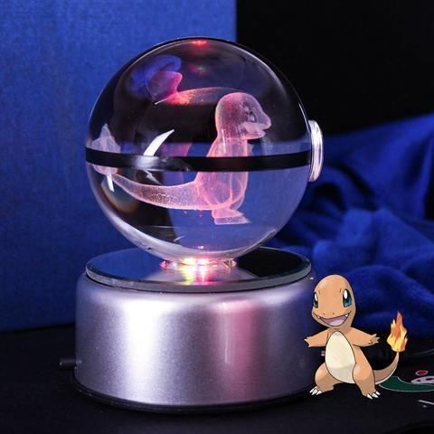Charmander Pokemon Crystal Pokeball