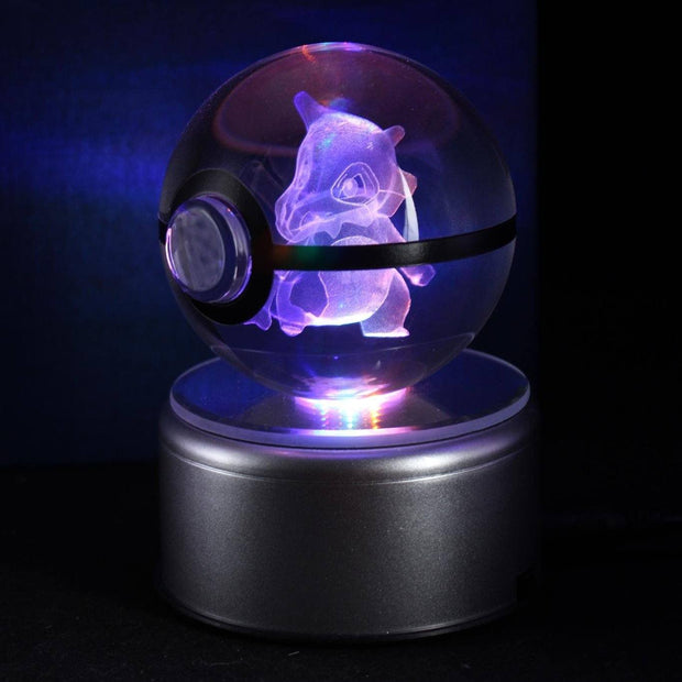 pokemon cubone crystal led pokeball