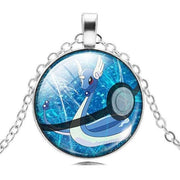 pokemon dragonair glass pendant