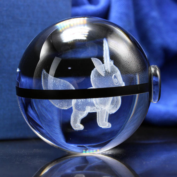 Eevee Pokemon Crystal PokeBall