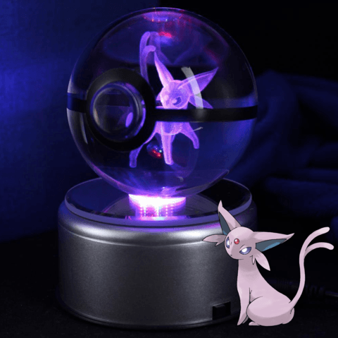 pokemon espeon crystal pokeball