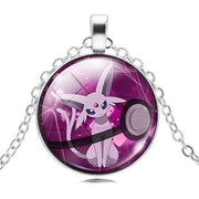 pokemon espeon glass pendant
