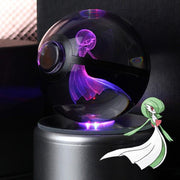 Gardevoir Pokemon Crystal Pokeball