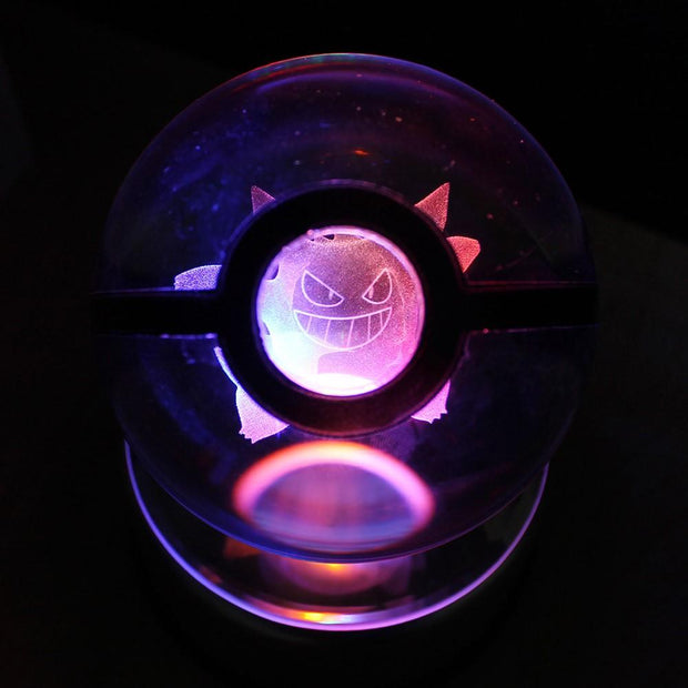 Gengar Pokemon Crystal Pokeball