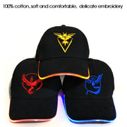 pokemon go led glow in the dark hats info