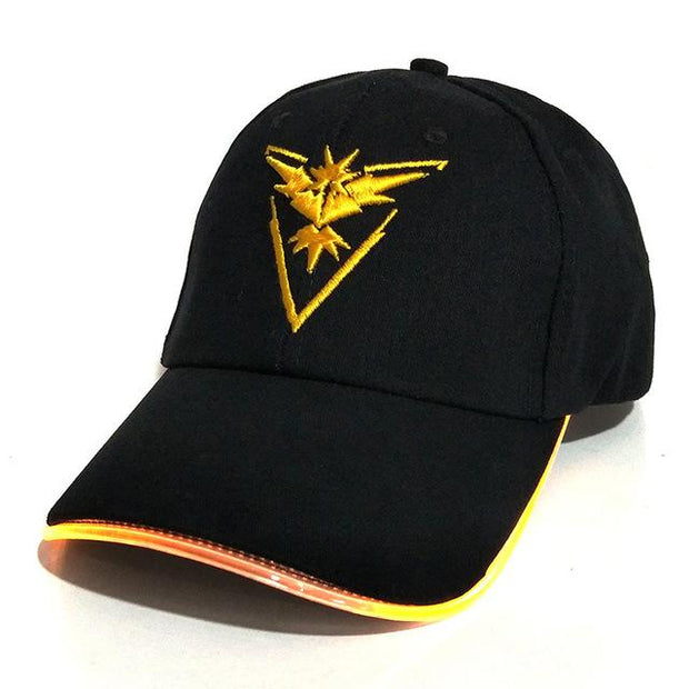 pokemon go team instinct LED hat