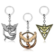 Pokemon Go Team Keychains