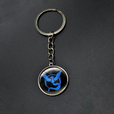 Pokemon Go Teams Glass Keychains