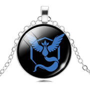 pokemon go team mystic glass pendant
