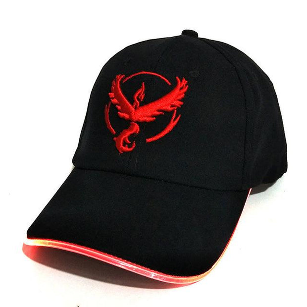 pokemon go team valor LED hat