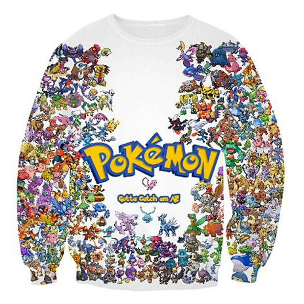Gotta Catch Em All TopSweaterS