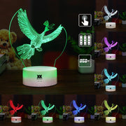 pokemon ho-oh led 3d night light of many color