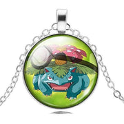 pokemon venusaur glass pendant