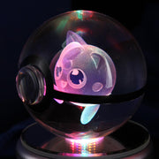 pokemon jigglypuff crystal led pokeball lamp