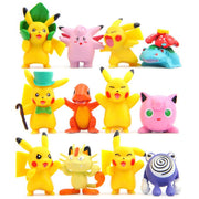 pokemon kawaii figure toys set