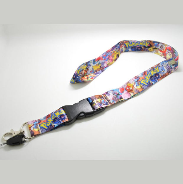 pokemon go stickerbomb lanyard