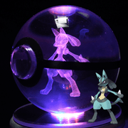 Lucario Pokemon Crystal Pokeball