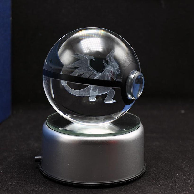Mega Charizard Pokemon Crystal Pokeball