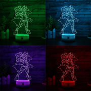 pokemon mega lucario led 3d night lights