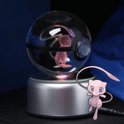 pokemon mew crystal pokeball