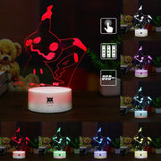 pokemon mimikyu led 3d night light of many color