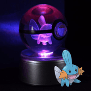 pokemon mudkip crystal pokeball
