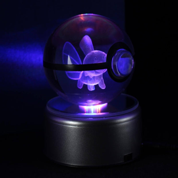 Mudkip Pokemon Crystal Pokeball